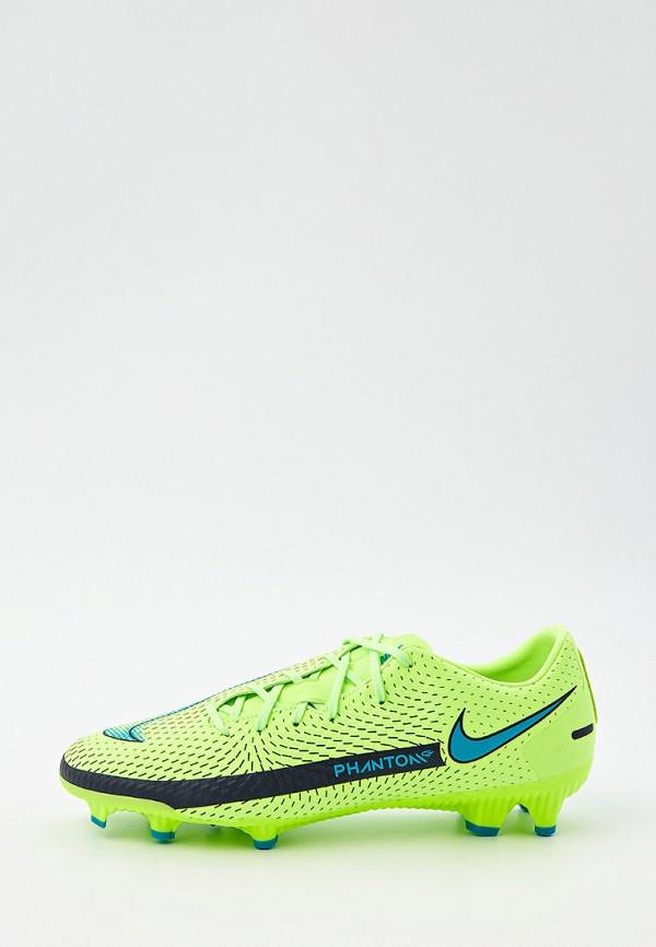 Бутсы Nike Nike CK8460 зеленый фото