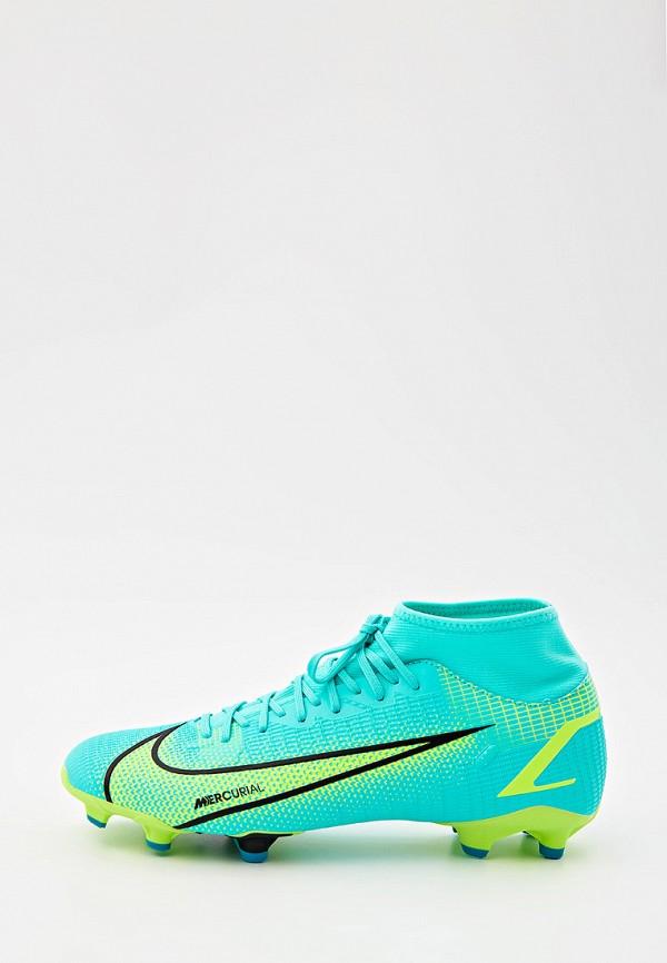 Бутсы Nike Nike CV0843 бирюзовый фото