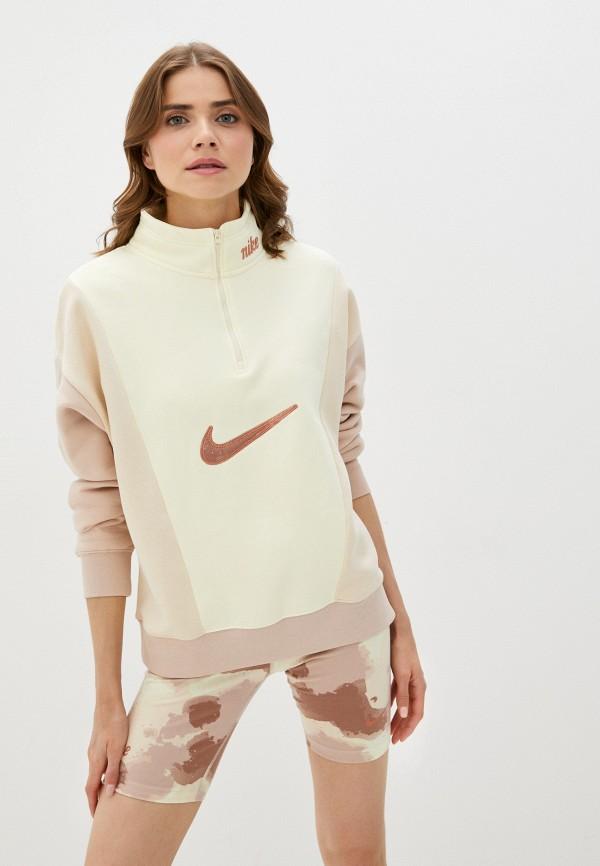 Олимпийка Nike Nike DM3835 бежевый фото