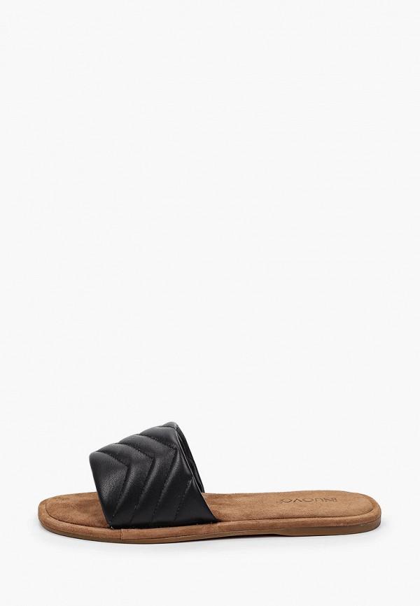 женское сабо inuovo, черное
