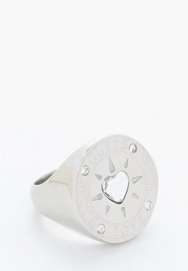 Кольцо Guess Guess JUBR70008JW серебряный фото