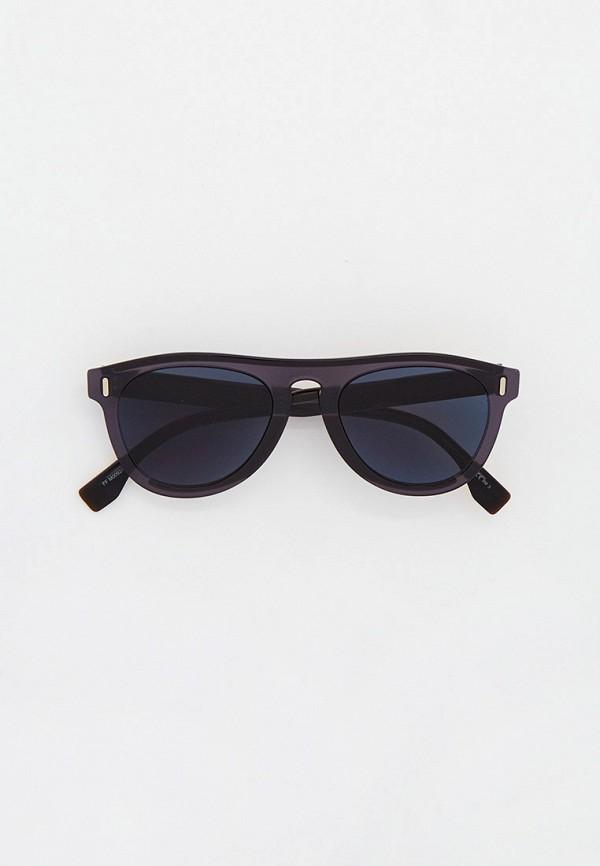 Очки солнцезащитные Fendi серого цвета