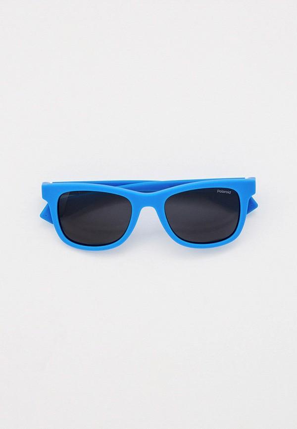 солнцезащитные очки polaroid для мальчика, голубые