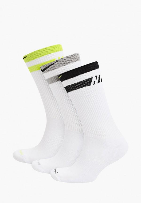 женские носки nike, белые