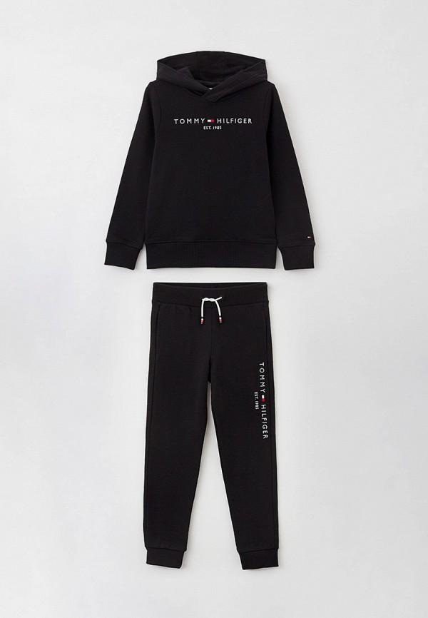 спортивный костюм tommy hilfiger для мальчика, черный