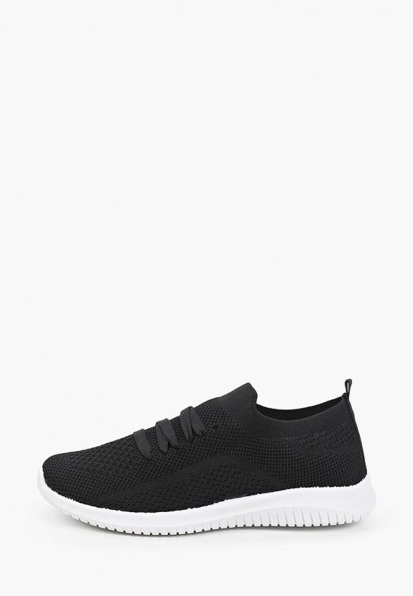 женские низкие кроссовки trien, черные