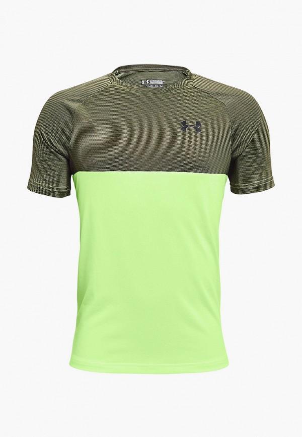 футболка с коротким рукавом under armour для мальчика, разноцветная