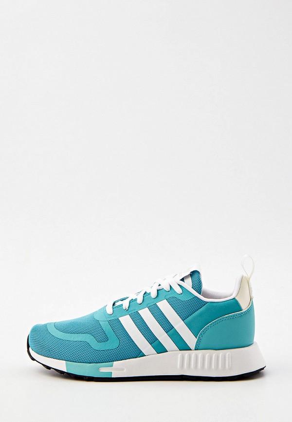 женские низкие кроссовки adidas, бирюзовые