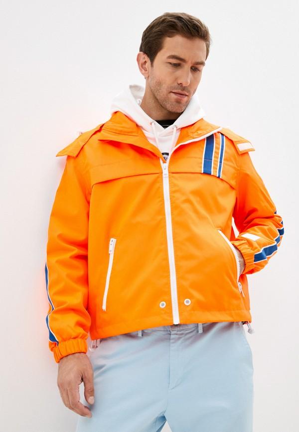 мужская легкие куртка diesel, оранжевая
