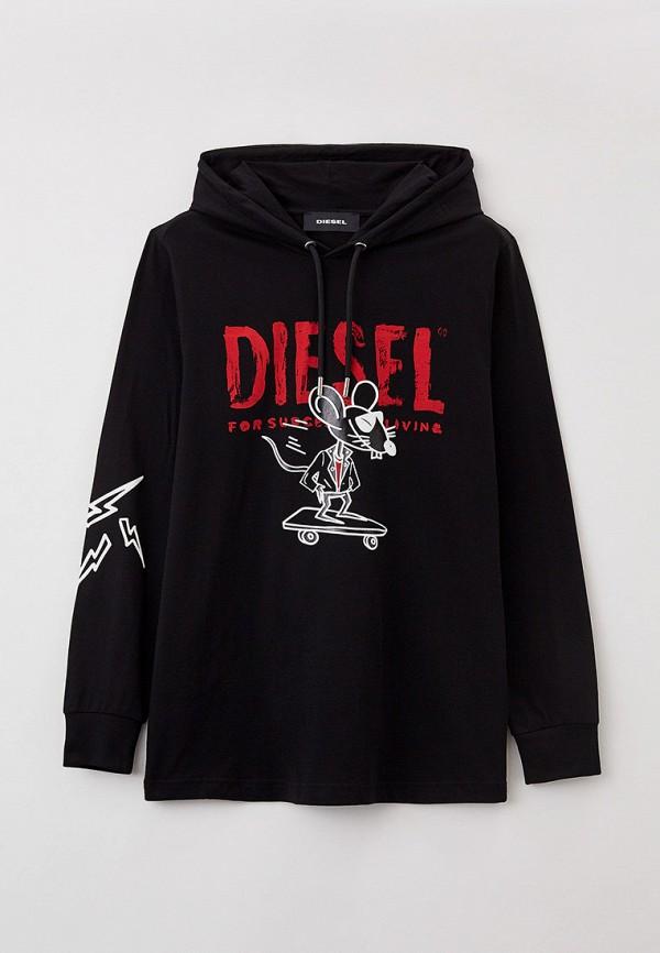 Худи Diesel черного цвета