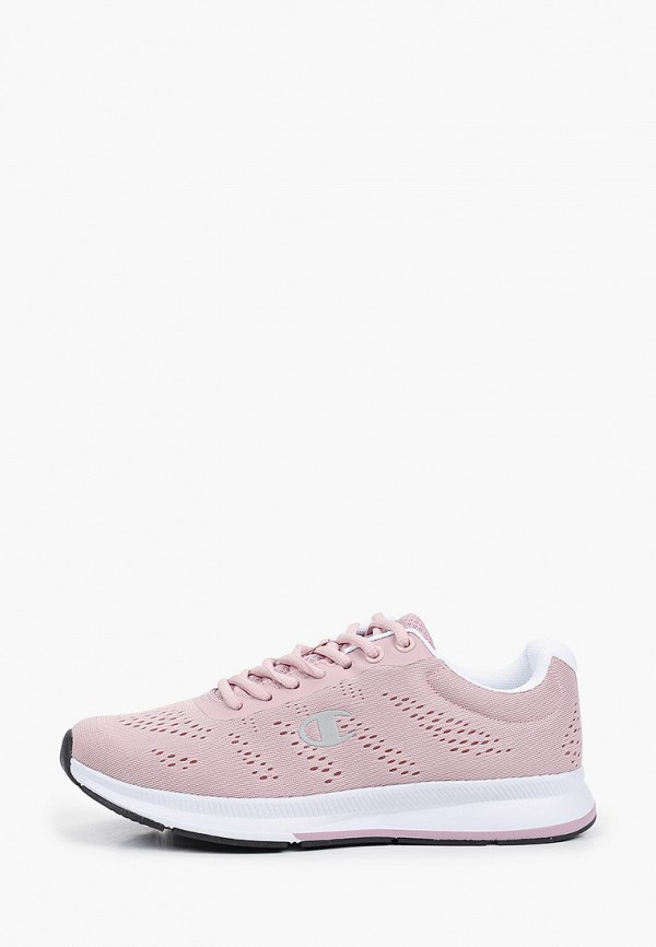 женские низкие кроссовки champion, розовые