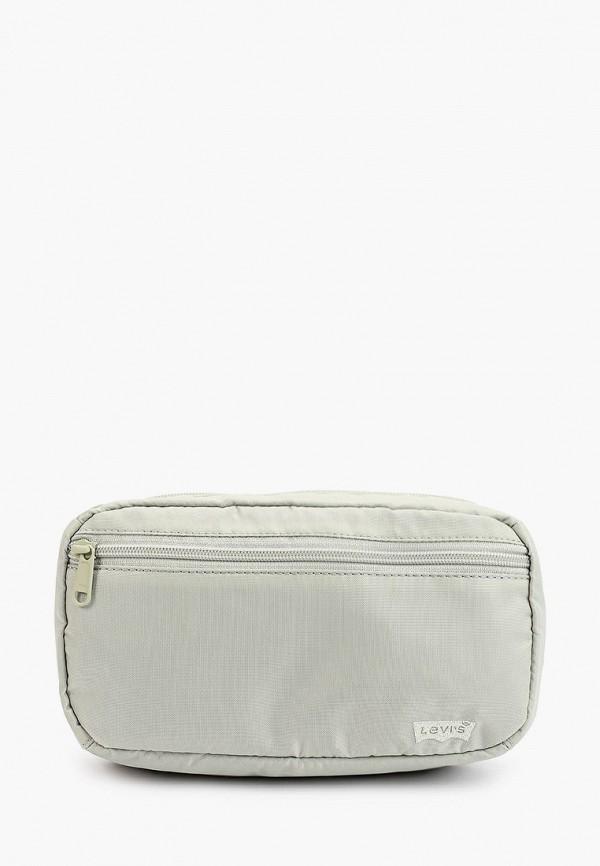 женская поясные сумка levi's®, зеленая
