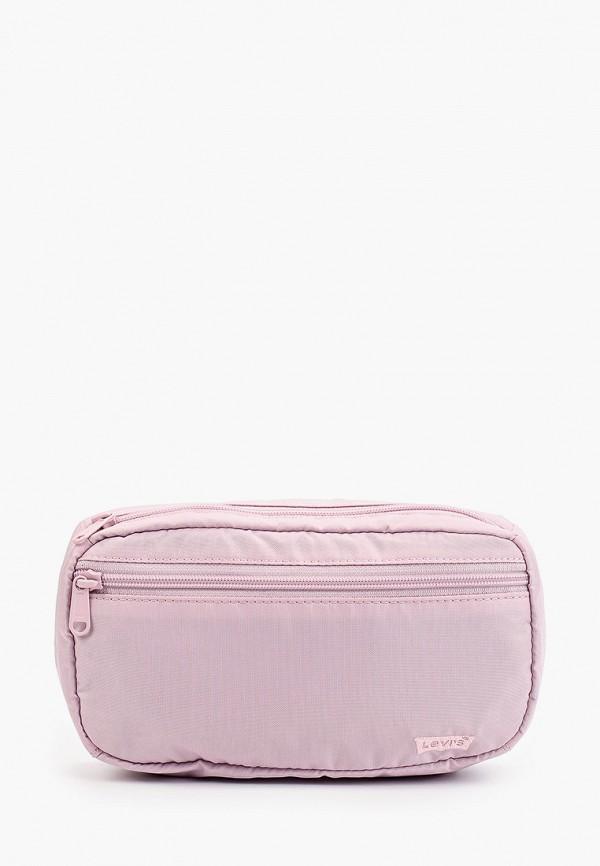 женская поясные сумка levi's®, фиолетовая