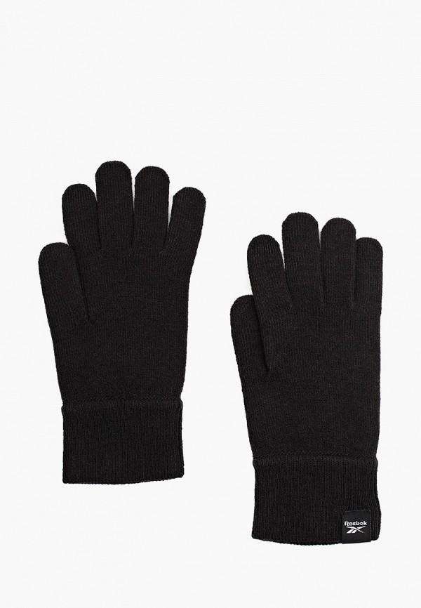 Перчатки Reebok черного цвета