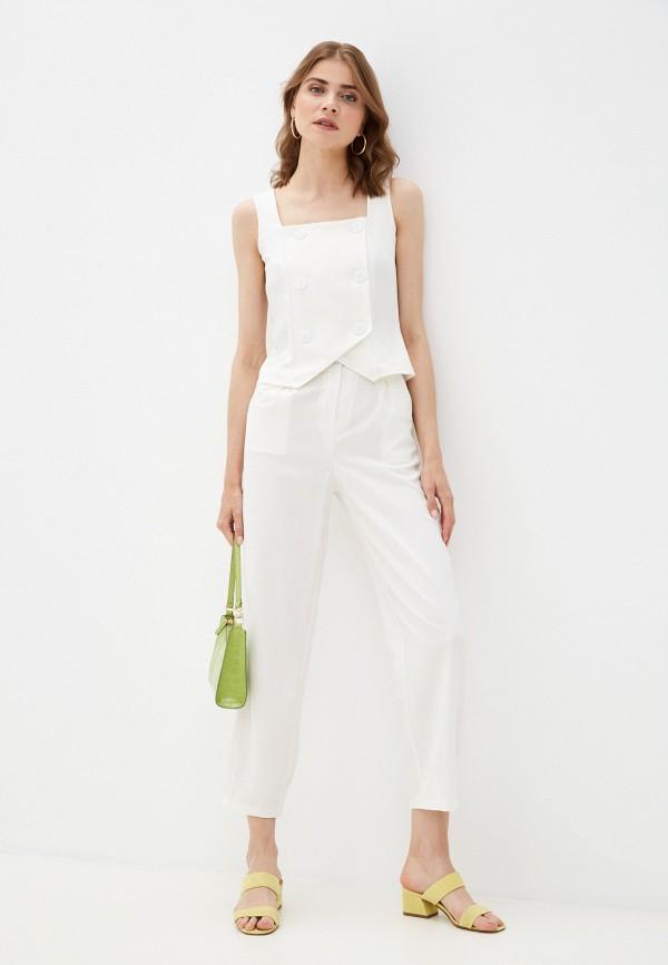 женский костюм rene santi, белый