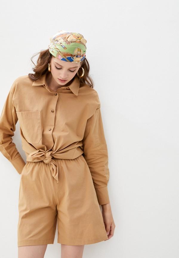 женский костюм marselesa, коричневый
