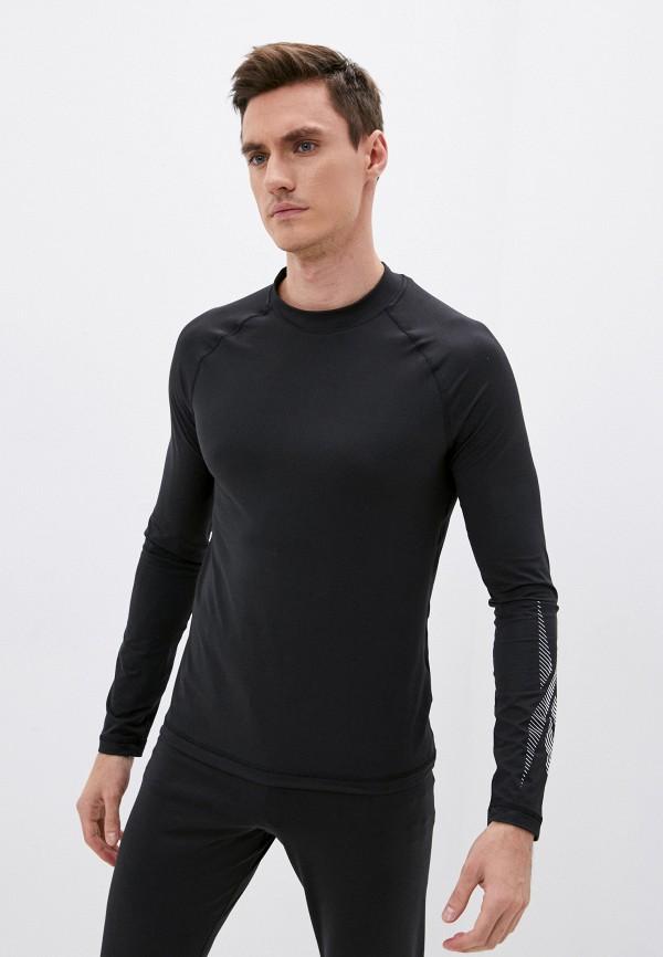 Лонгслив спортивный Reebok черного цвета