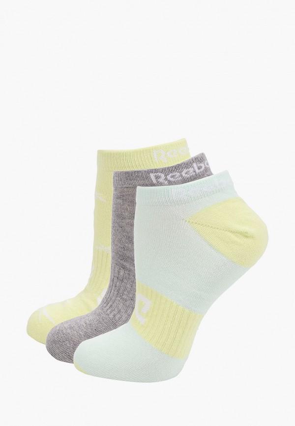 Носки 3 пары Reebok разноцветного цвета