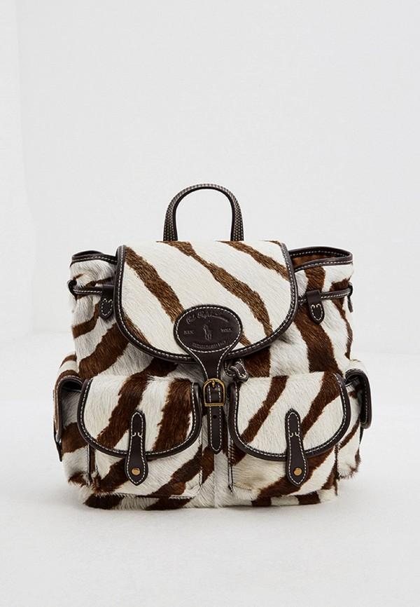 женский рюкзак polo ralph lauren, разноцветный