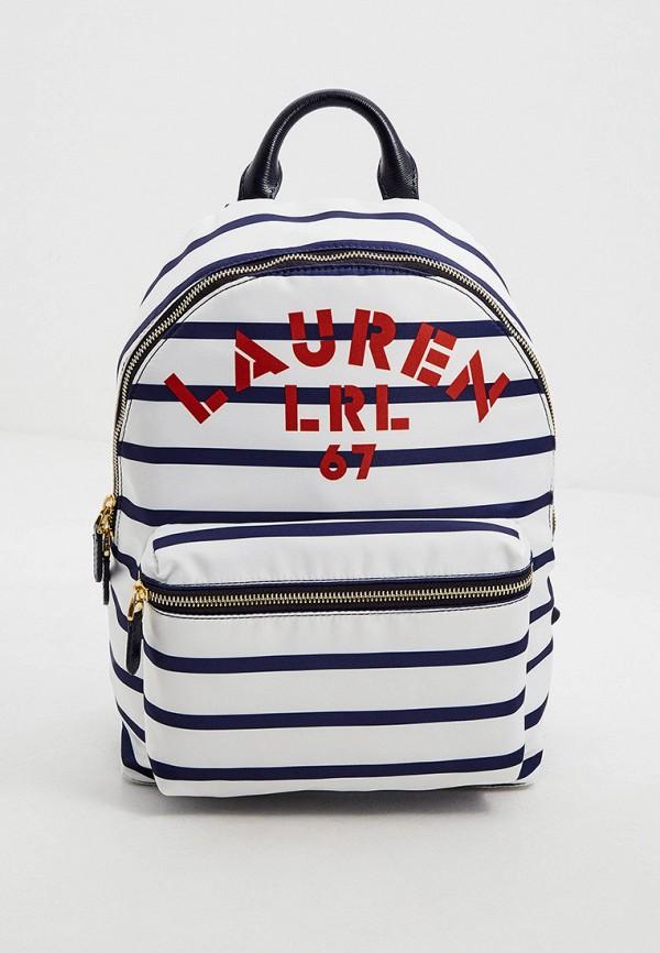женский рюкзак lauren ralph lauren, белый