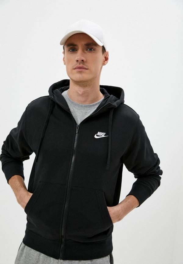мужская спортивные толстовка nike, черная