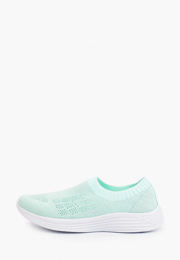 женские низкие кроссовки der spur, бирюзовые