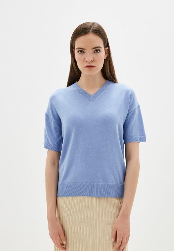 Пуловер Marks & Spencer голубого цвета