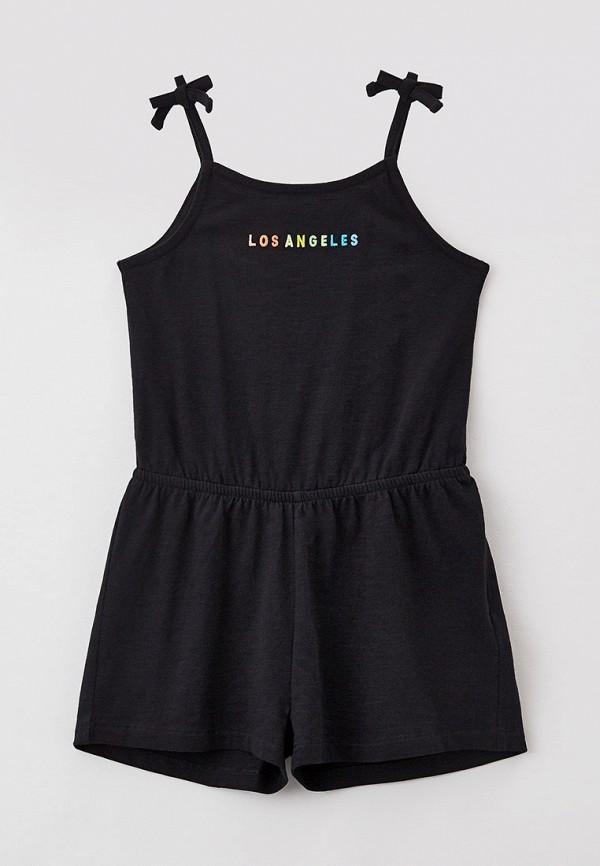 комбинезон с брюками marks & spencer для девочки, черный