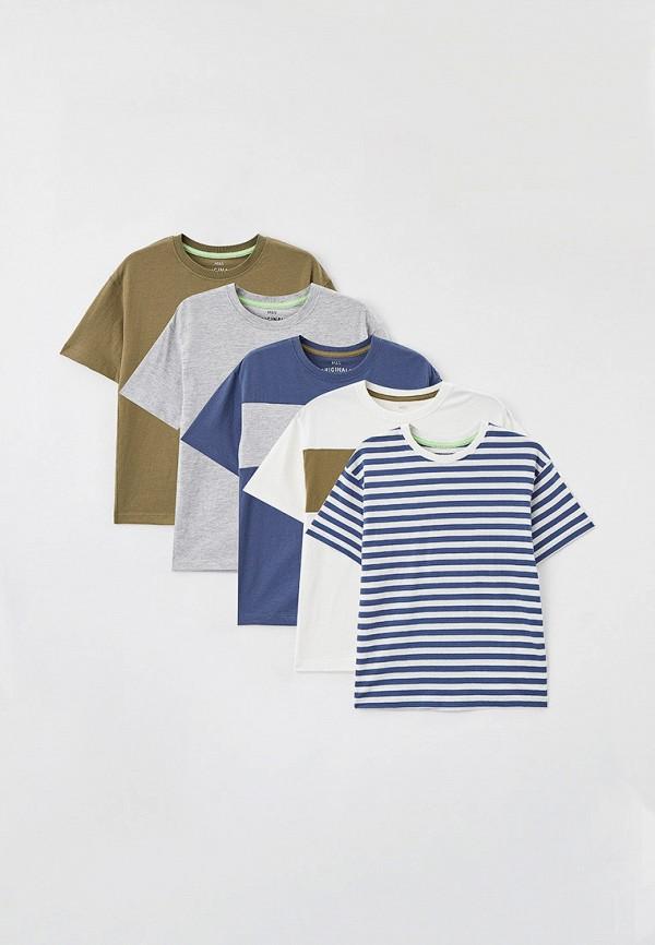 футболка с коротким рукавом marks & spencer для мальчика, разноцветная
