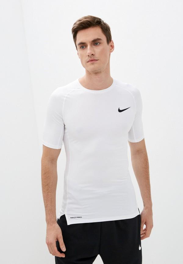 мужская спортивные футболка nike, белая