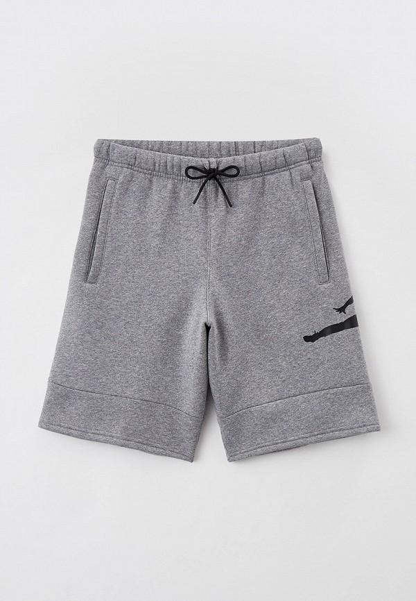 женские спортивные шорты jordan, серые