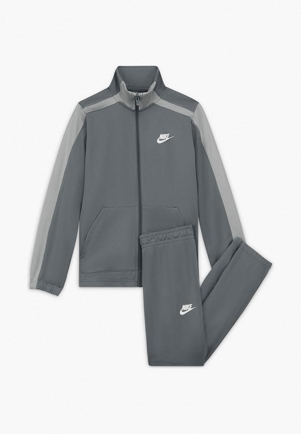 спортивный костюм nike малыши, серый