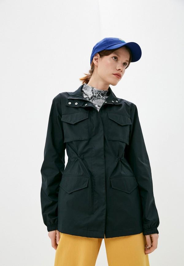 женская спортивные куртка nike, черная