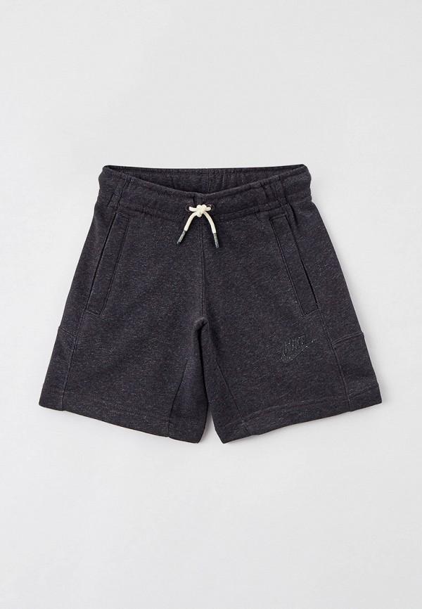 спортивные шорты nike малыши, серые