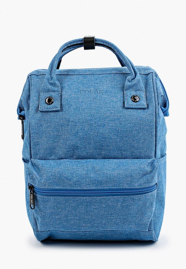 женский рюкзак polar, голубой