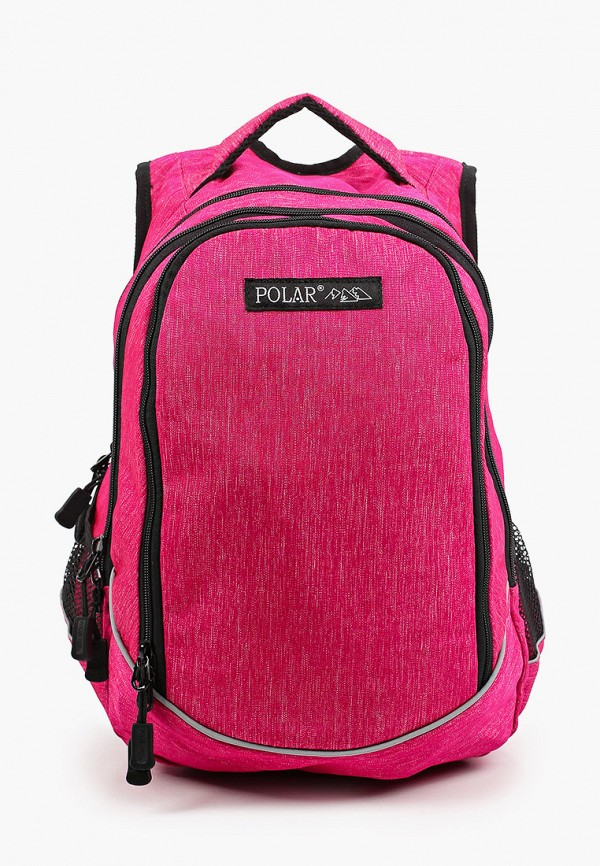 женский рюкзак polar, розовый
