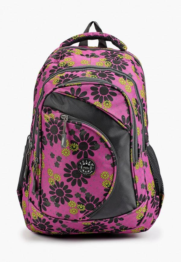женский рюкзак polar, фиолетовый