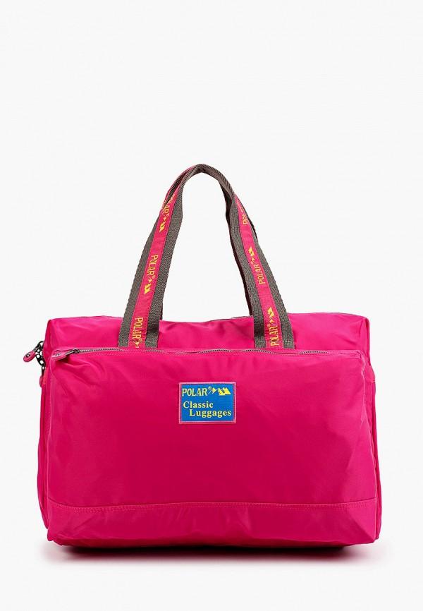женская дорожные сумка polar, розовая