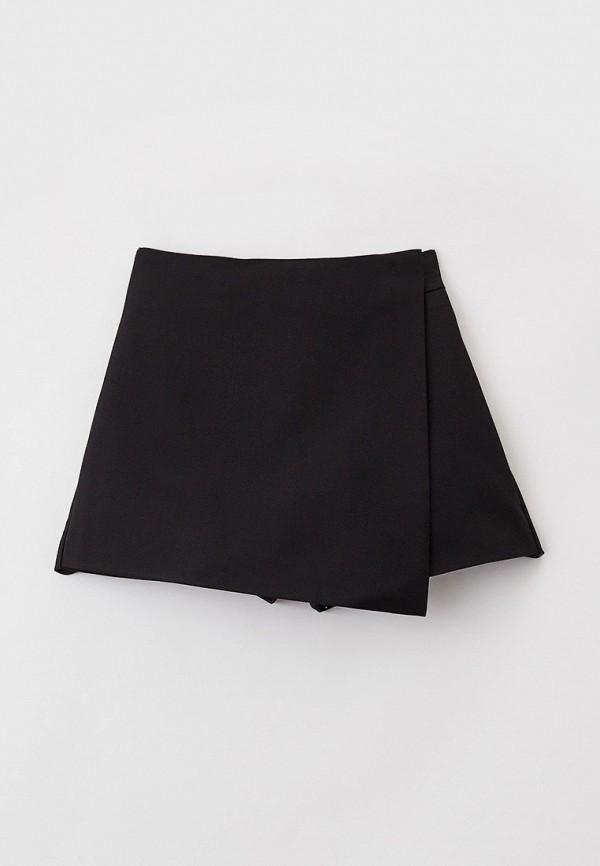 юбка button blue для девочки, черная