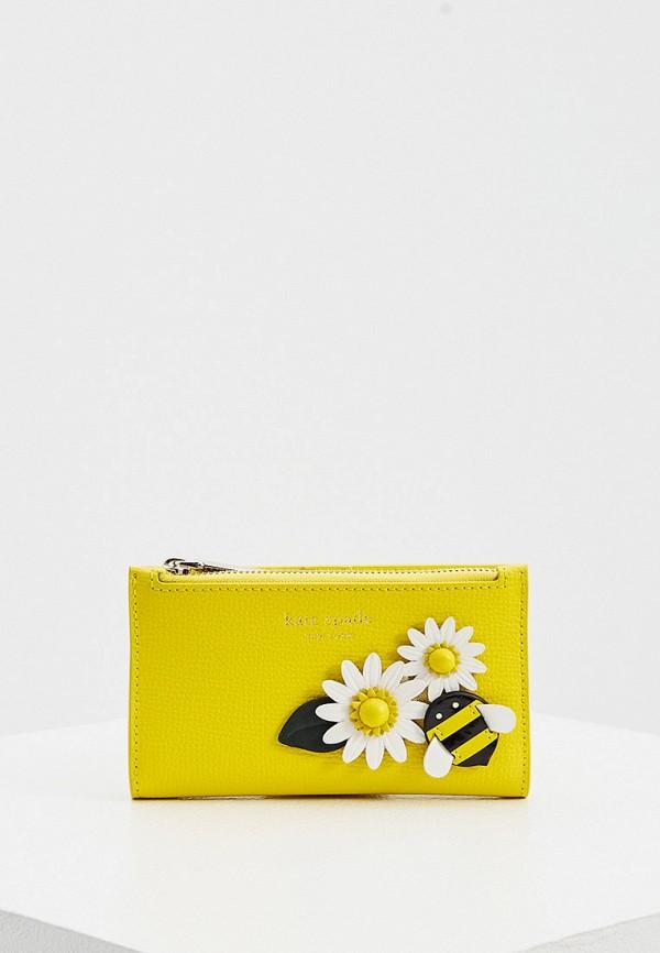 женский кошелёк kate spade, желтый