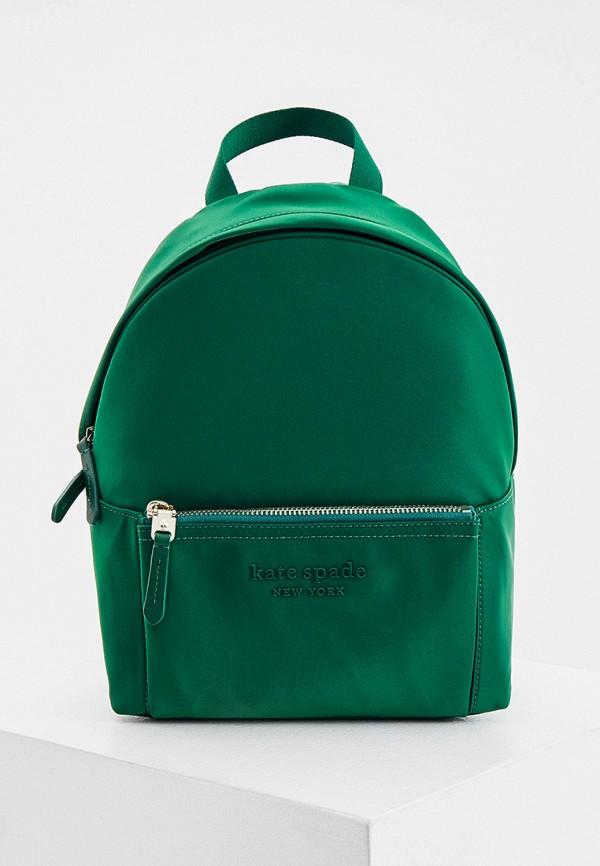 женский рюкзак kate spade, зеленый