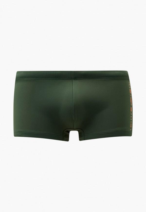мужские плавки diesel, зеленые
