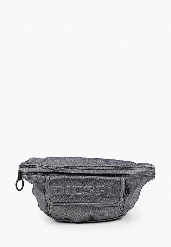 женская поясные сумка diesel, синяя