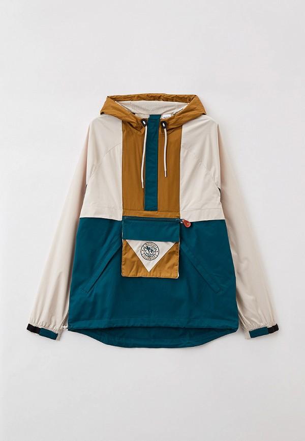 женская спортивные куртка reebok classic, разноцветная