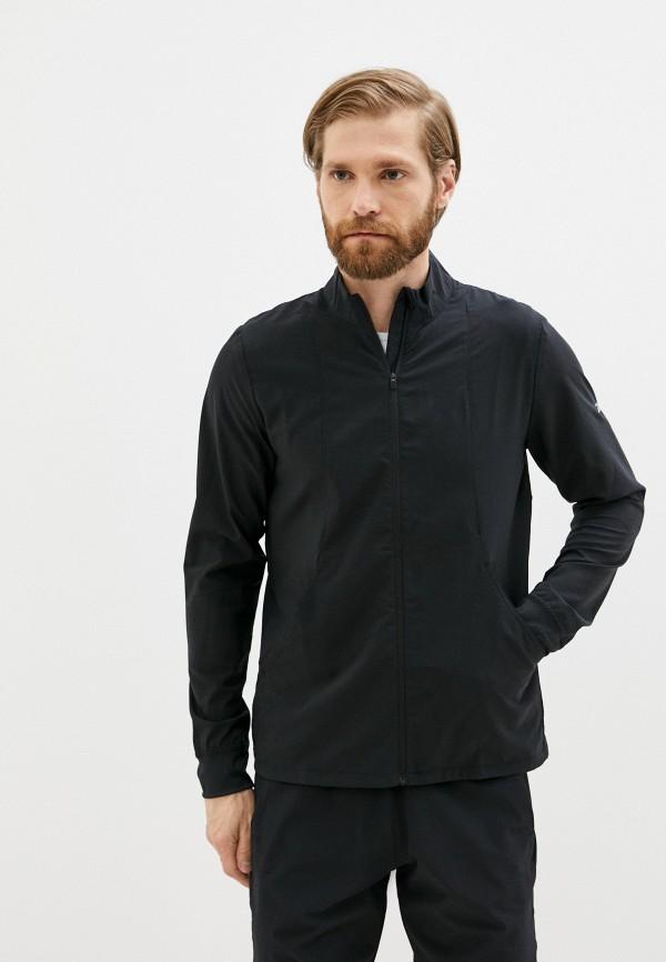 Куртка спортивная Reebok черного цвета
