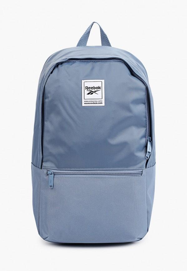 женский рюкзак reebok, голубой