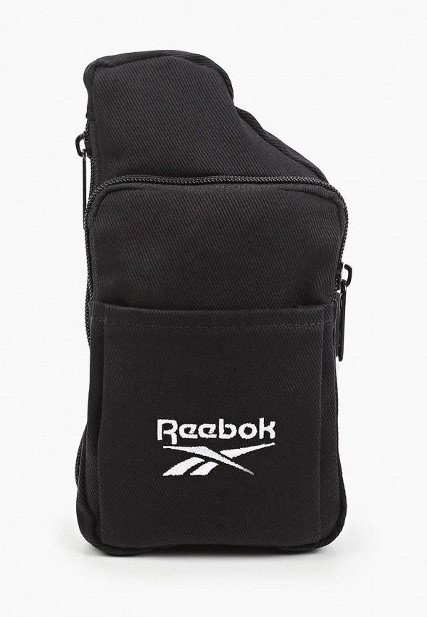 женская сумка reebok classic, черная