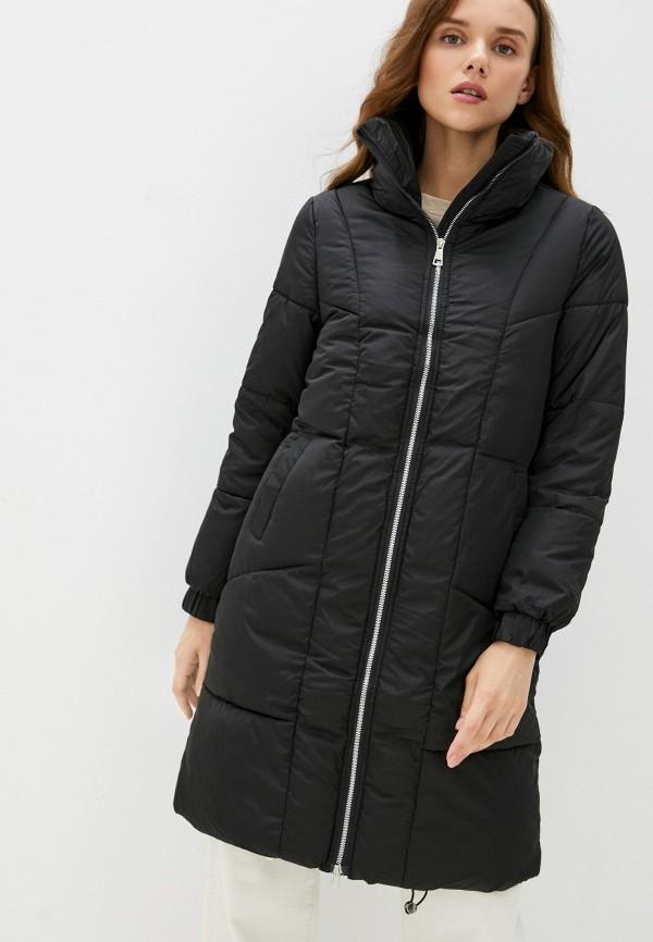 женская утепленные куртка diverius, черная
