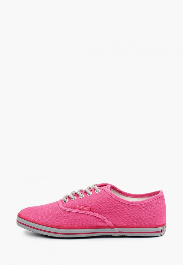 женские низкие кеды reflex, розовые
