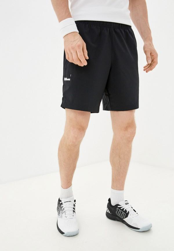 мужские спортивные шорты wilson, черные